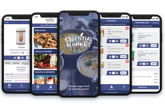 A Vegan Grocery Store IOS App