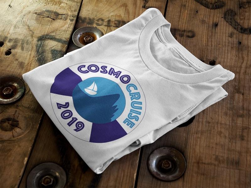 Conference Logo Design, Cosmo Cruise