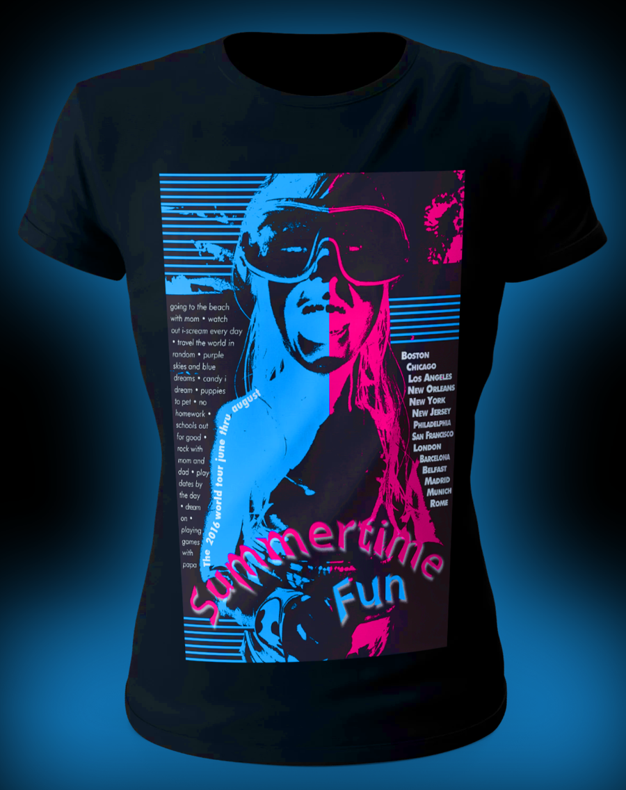 Shirt Design, Poster Design