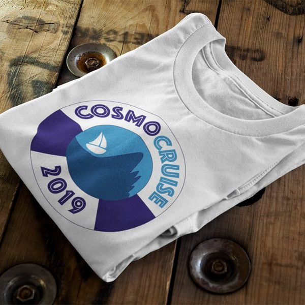 Conference Logo Design, Cosmo Cruise